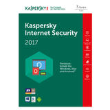 kaspersky Internet Security 2017 Box 3x Lizenz