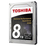8TB Toshiba X300 Performance Hard Drive (HDWF180EZSTA)
