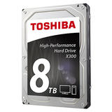8TB Toshiba X300 Performance Hard Drive (HDWF180UZSVA)