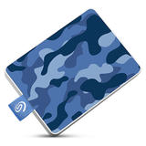 500GB Seagate One Touch Externe SSD camouflage-Blau (STJE500406)